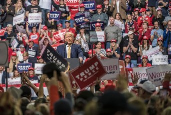 'He makes us feel like we matter': Trump fans flock to massive Springs rally