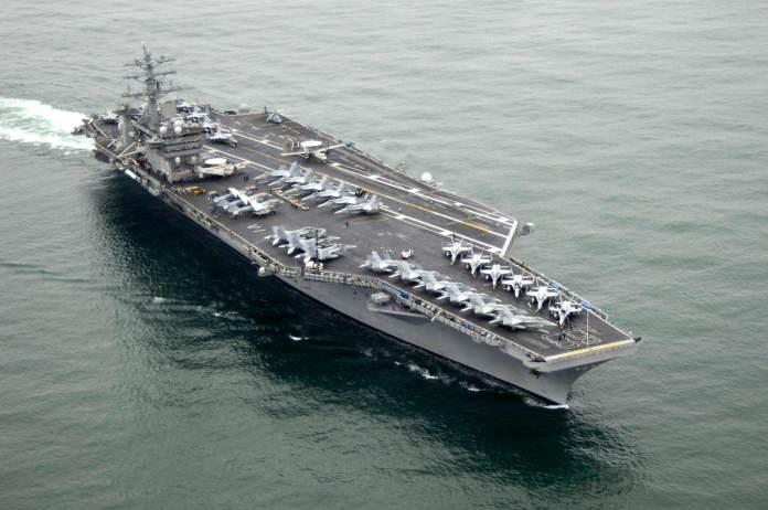 aircraft carrier USS Nimitz