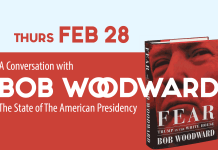 A conversation with Bob Woodward