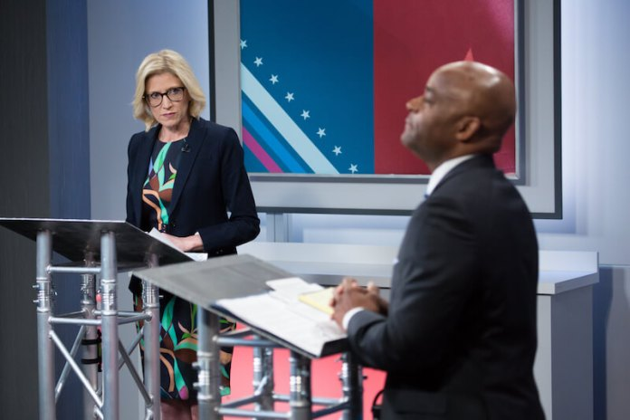 sparks fly in Denver mayoral debate