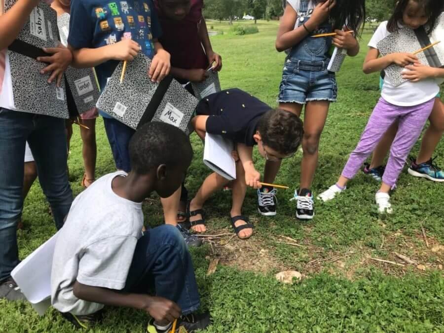 Rising third-graders attending Denver Public Schools'