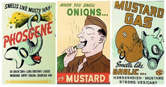 mustard gas posters