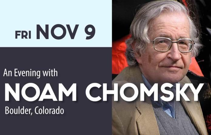 An Evening with Noam Chomsky