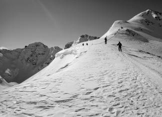 Climate change. Silverton Mountain, March 2010. (Photo by Doug Pensinger/Getty Images)
