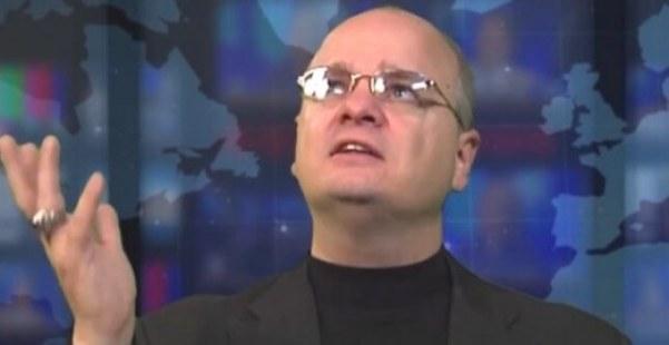 Image: Screen grab of Gordon Klingenscmitt from his Pray in Jesus Name web series.
