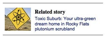 toxic suburb