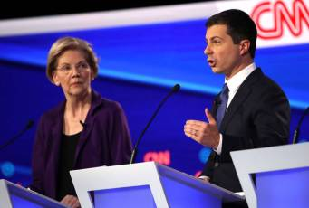 Littwin: Dem debates haven't mattered much so far, and it may be awhile yet before they do