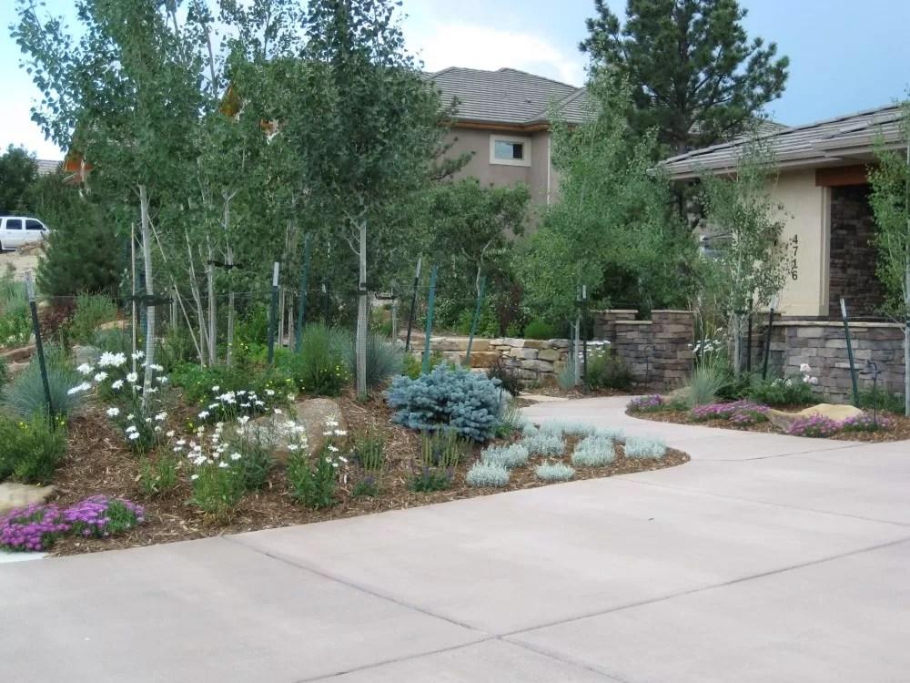 Xeriscape Design Colorado Springs - Landscape Design on Mountain Backyard Ideas id=17136