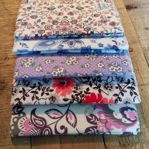 floral facecloths