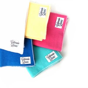 solids sample headrest cloth