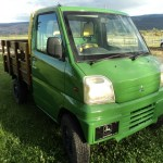 1999 Mitsubishi Mini Cab, John Deere Style! Available Today!