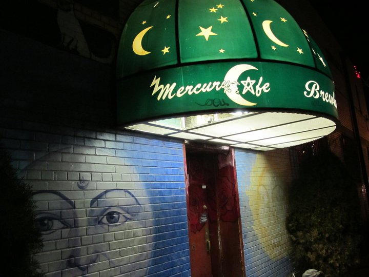 Mercury Cafe exterior