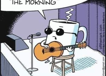 Cartoon Only loves me in the morning