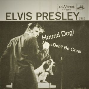Hound Dog record jacket