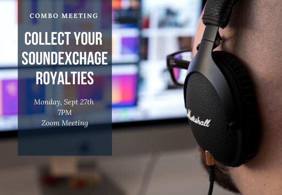 COMBO meeting Sept 27 - soundexchange