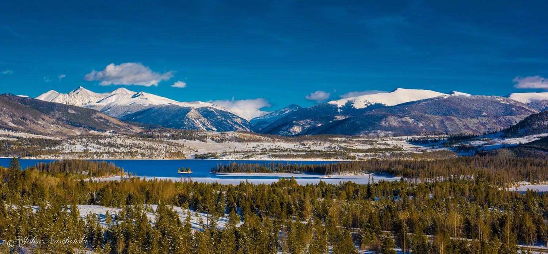 Colorado Snow Background