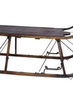 sold out vintage sleigh coffee table