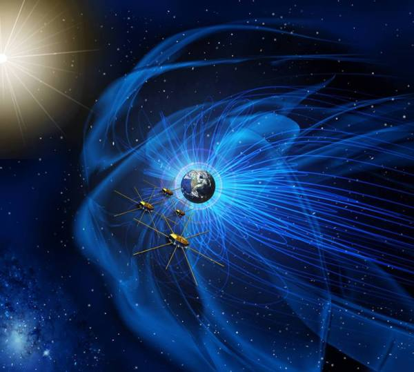 NASA's MMS Spacecraft Achieve Tightest Flying Formation ...