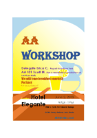 D7 AA Workshop June 2 2018