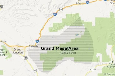 grand mesa colorado map » Full HD MAPS Locations - Another World ...