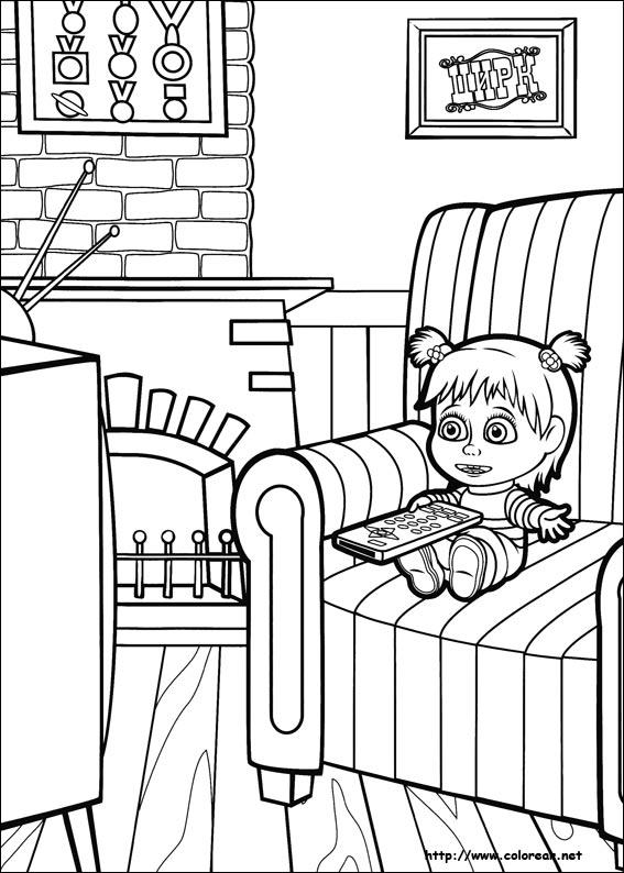 Dibujos Para Imprimir De Masha Y El Oso Dibujos de Masha y el oso ...