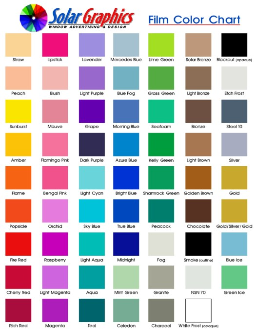 Remarkable Window Tint Color Chart 837 X 1083 340 Kb Jpeg