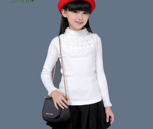 Sweater Bottoming Shirt Korean Version Of The New Autumn And Winter High Necked Long