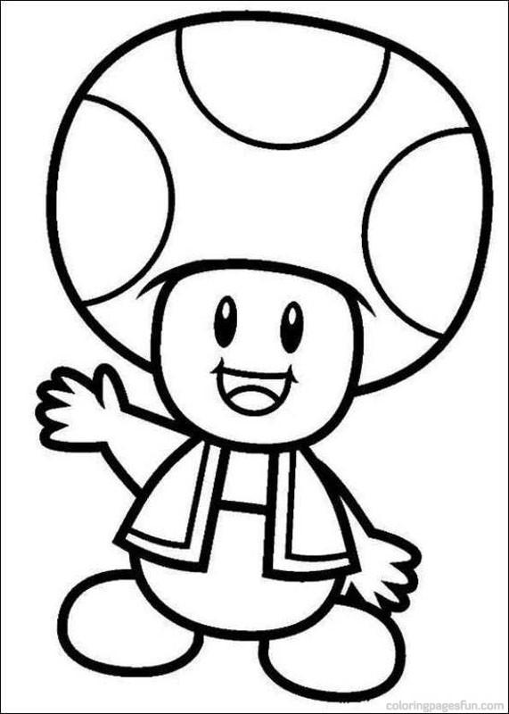 Coloriage Toad Mario Dessin Dessin Gratuit 224 Imprimer