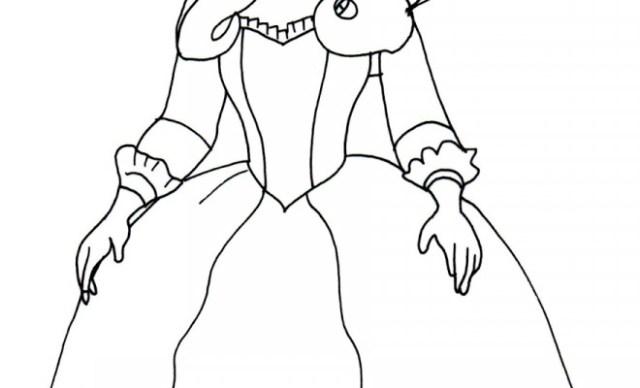 Coloriage Reine Miranda dans princesse Sofia dessin gratuit à imprimer