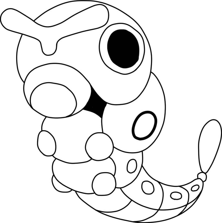 coloring pages of pokemon unseen art org