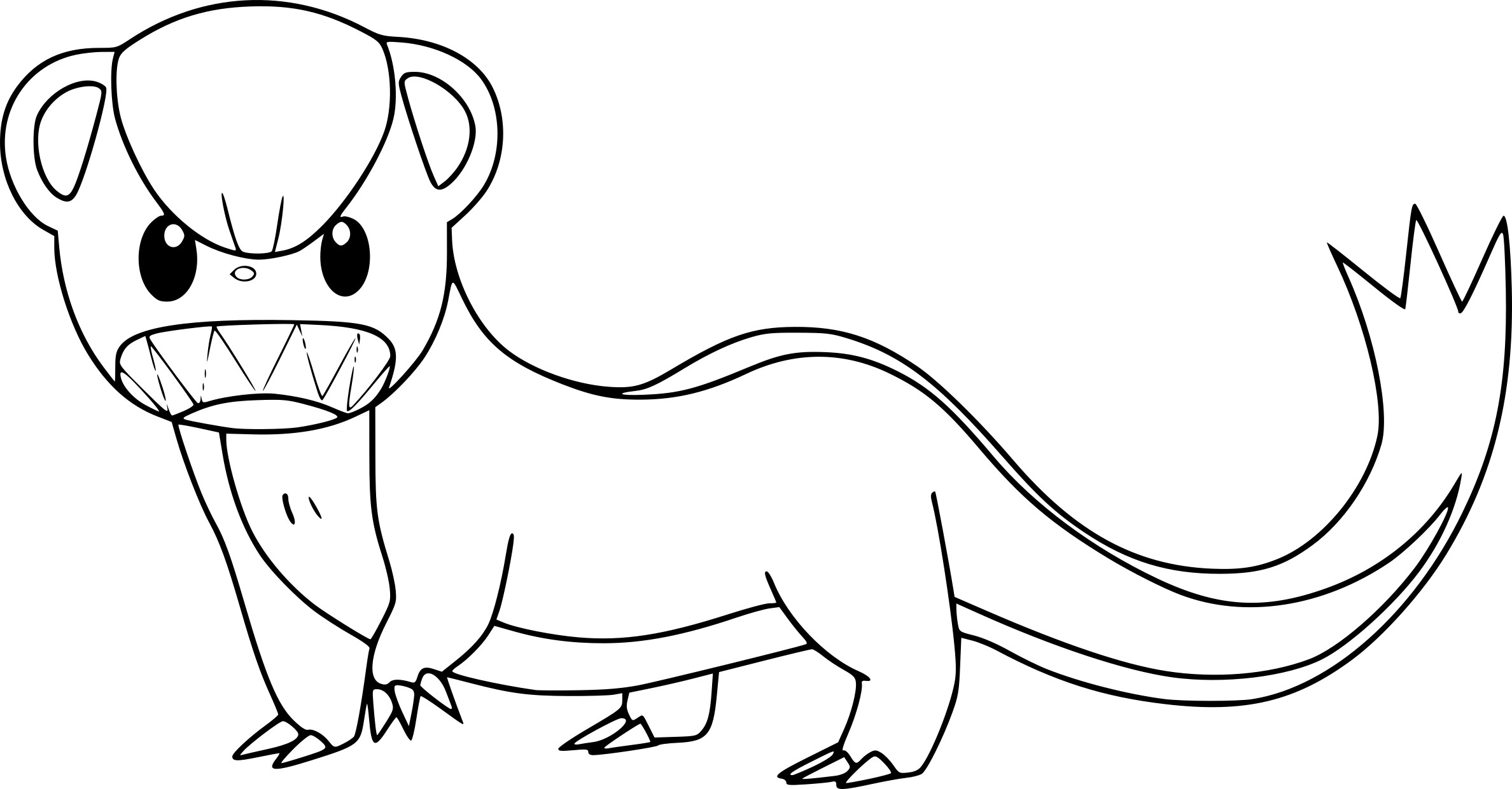 Eevee Evolutions Coloring Pages Coloring Pages
