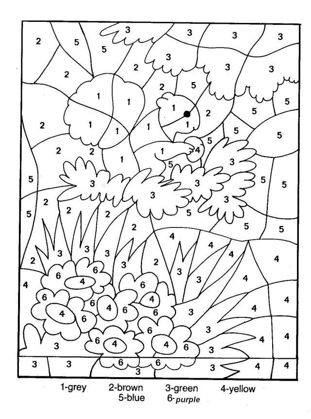 Magique 30 - Coloriage magique - Coloriages pour enfants