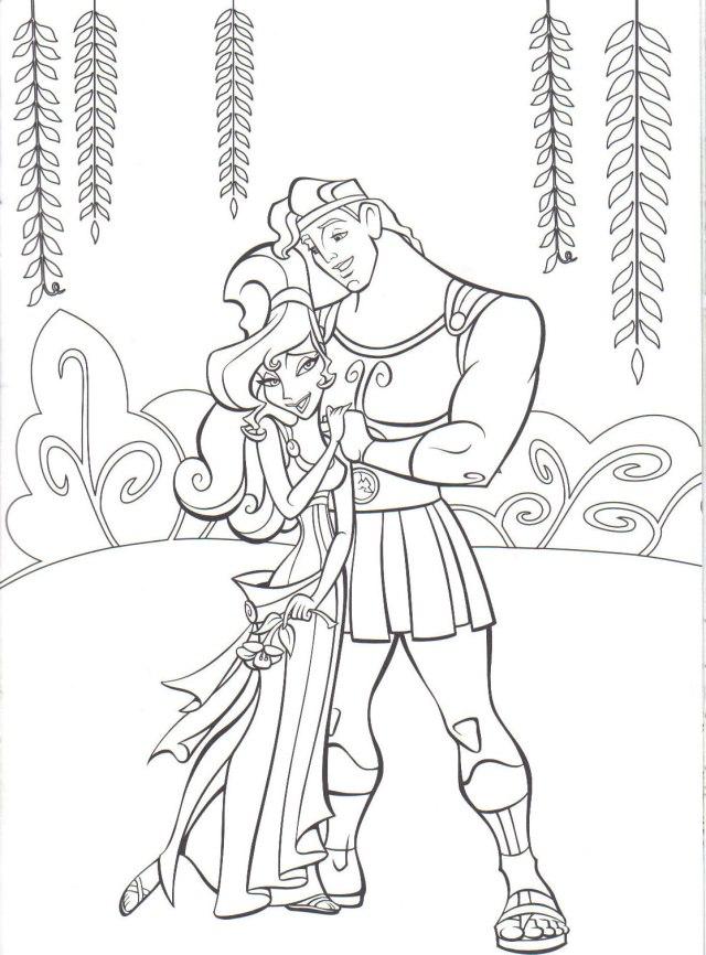 Coloriage Hercules - Coloriages pour enfants