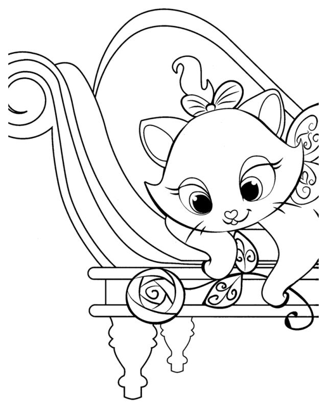 Coloriage Les aristochats - Coloriages pour enfants