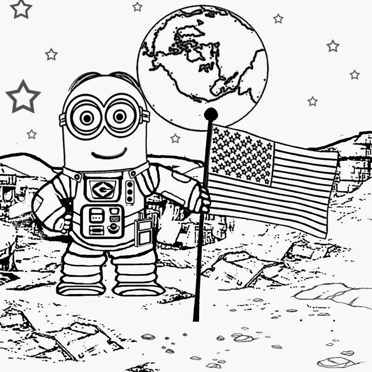 Minion Sur La Lune