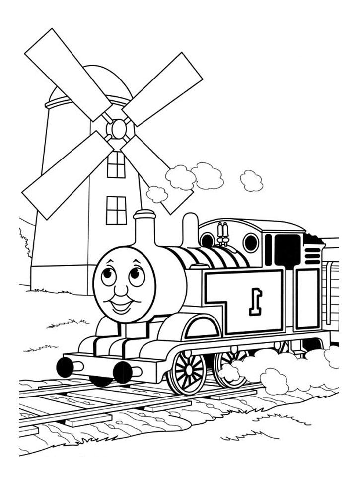 Thomas Et Ses Amis Train 13 Coloriage Thomas Et Ses Amis