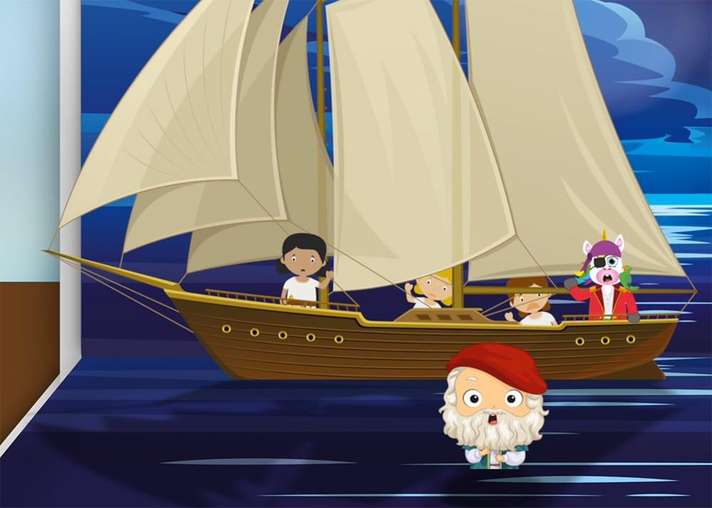 El cuento de Jonas y la ballena para niños