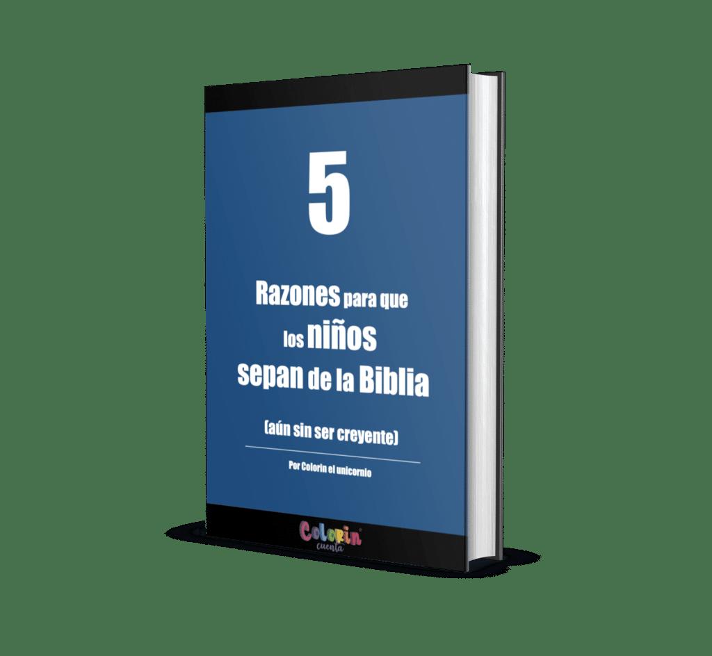 portada 5 razones para que los niños sepan de la Biblia