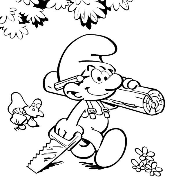 СМУРФИКИ | Раскраски для детей распечатать бесплатно в ...