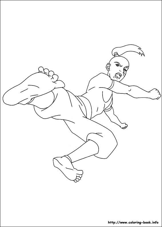 avatar coloring pages - photo#28