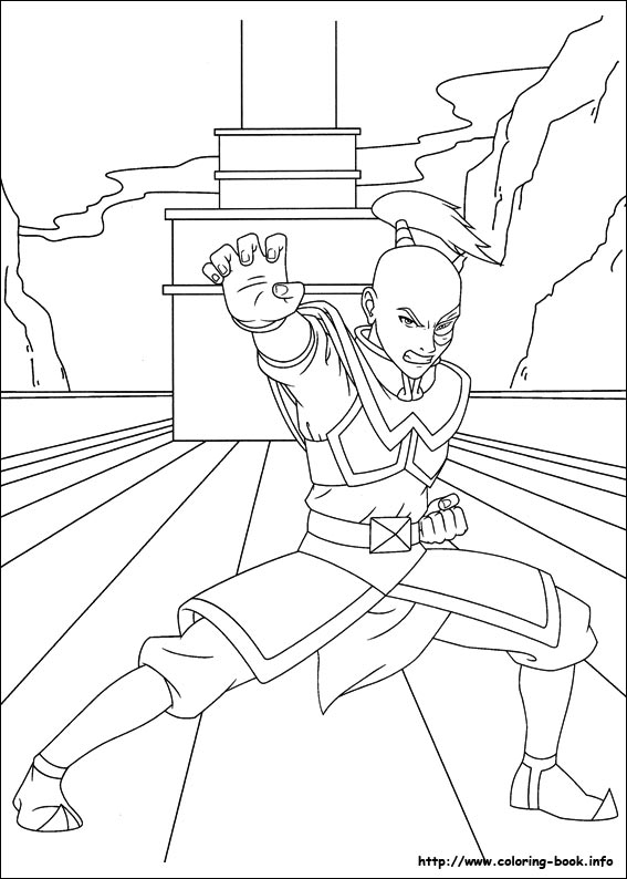 avatar coloring pages - photo#8
