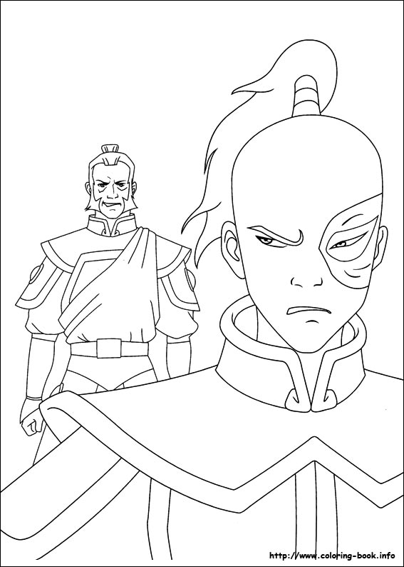 avatar coloring pages - photo#21