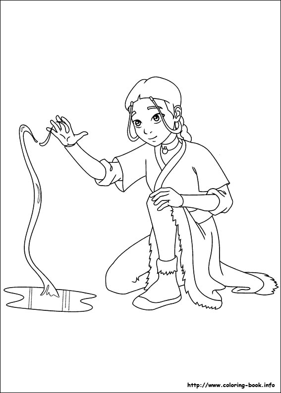 avatar coloring pages - photo#40