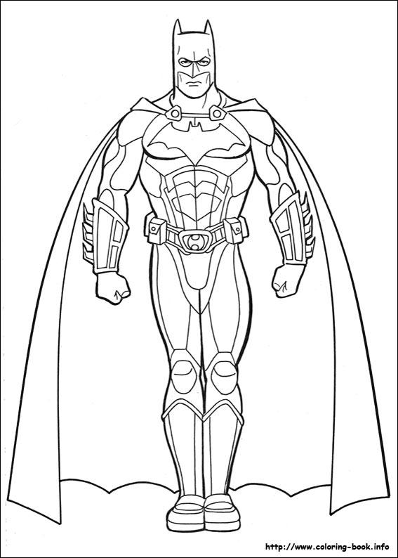 batman printable coloring pages # 8