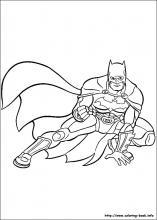 coloring pages of batman # 24