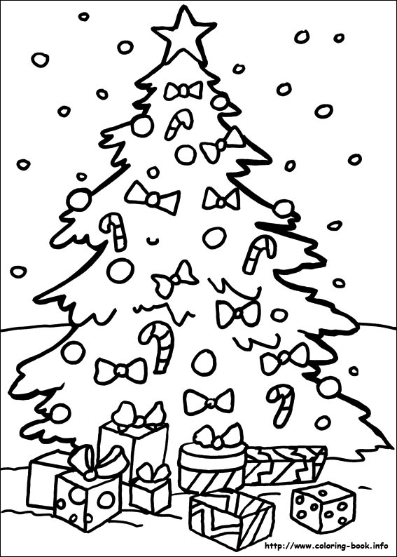 christmas coloring book pages # 5