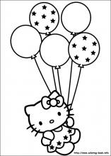 free printable hello kitty coloring pages # 5