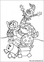 rudolph the red nosed reindeer coloring page # 12