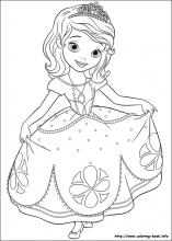 sofia the first printable coloring pages # 65