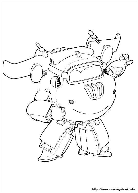 Super Wings Coloring Pages On Coloring Book Info